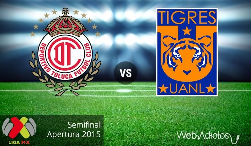 Toluca vs Tigres, vuelta de la semifinal del Apertura 2015 - toluca-vs-tigres-semifinal-apertura-2015