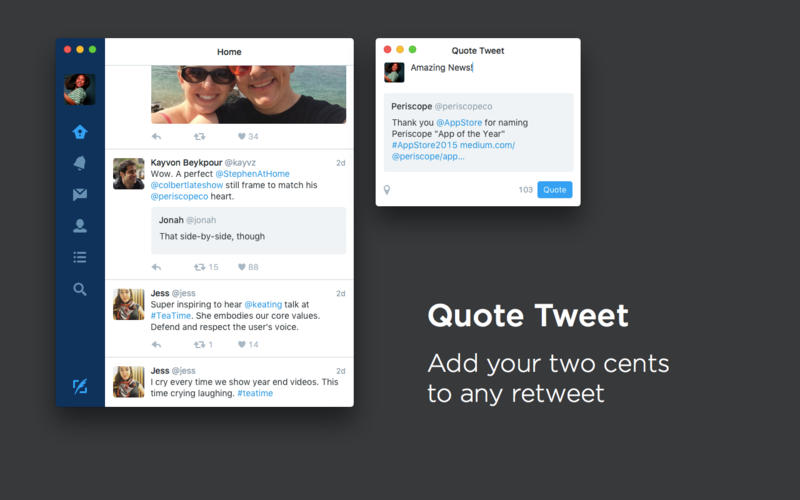 Twitter para Mac OS X agrega nuevas funciones en actualización - twitter-para-mac-os