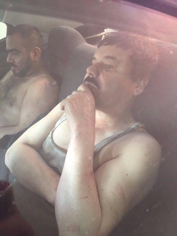 chapo captura 2016 600x800 Circula en redes sociales fotos de recaptura del Chapo Guzmán