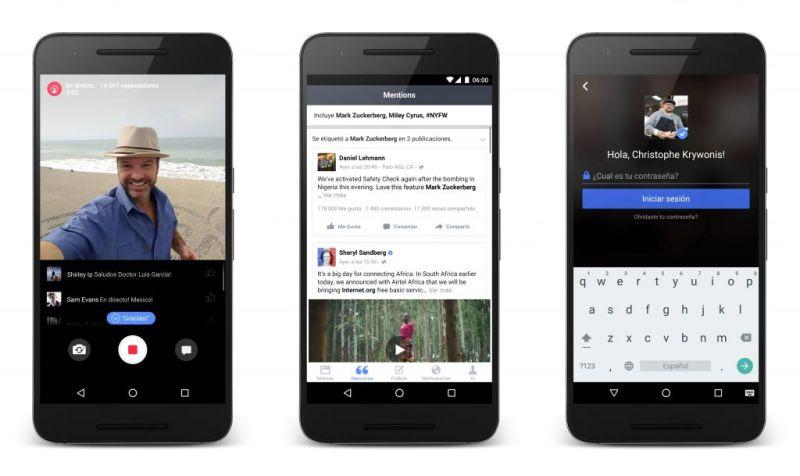 Lanzan Facebook Mentions para Android - spanish-android