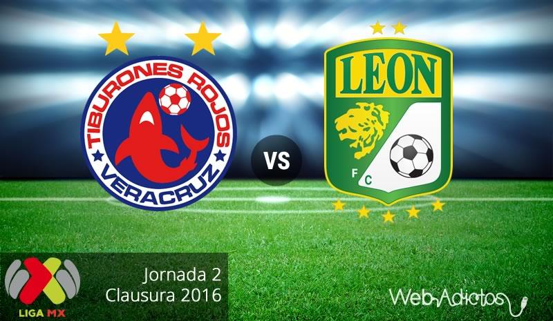 Veracruz vs León, Jornada 2 del Clausura 2016 ¡En vivo por internet! - veracruz-vs-leon-clausura-2016