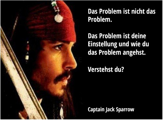 Captain Jack Sparrow Wahre Worte Win Bild Webfail