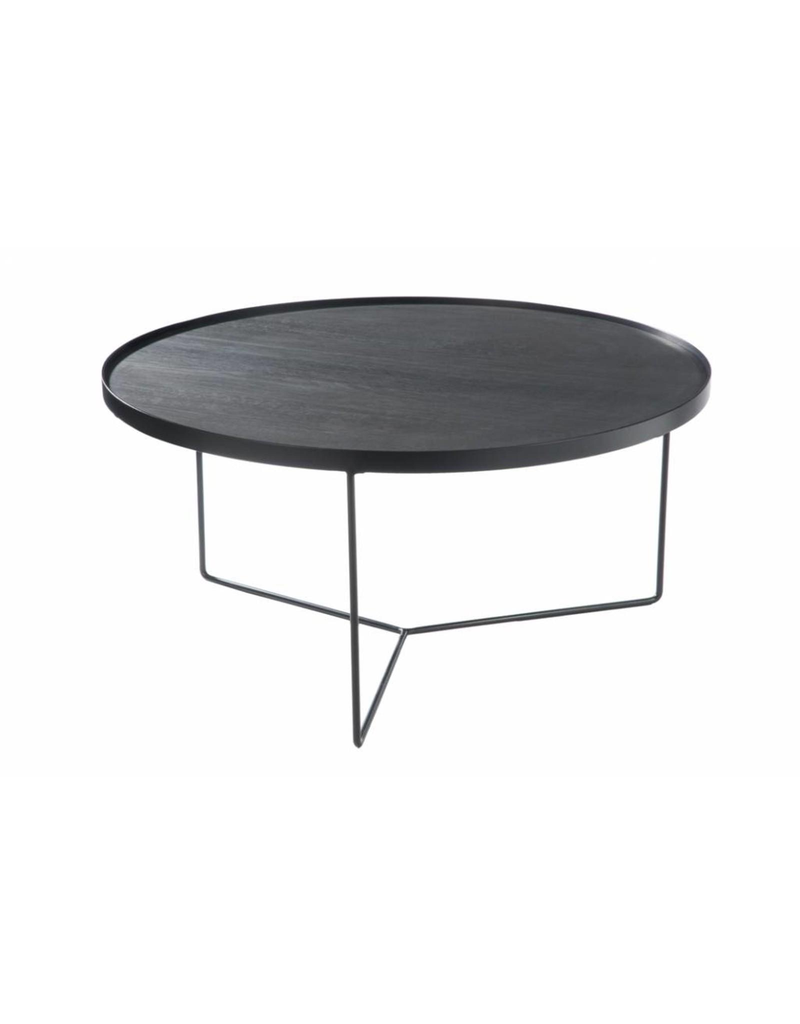side table black brownlarge la