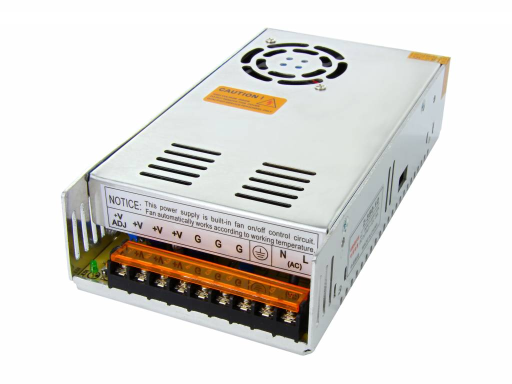 Schakelende Voeding DC 5 Volt 300 Watt 60 Ampère