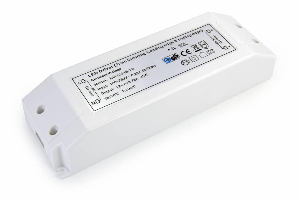 Dimbare Voeding DC 24 Volt 75 Watt 3,13 Ampère