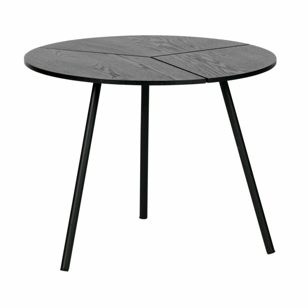 woood rodi coffee table m wood metal black o48x38cm