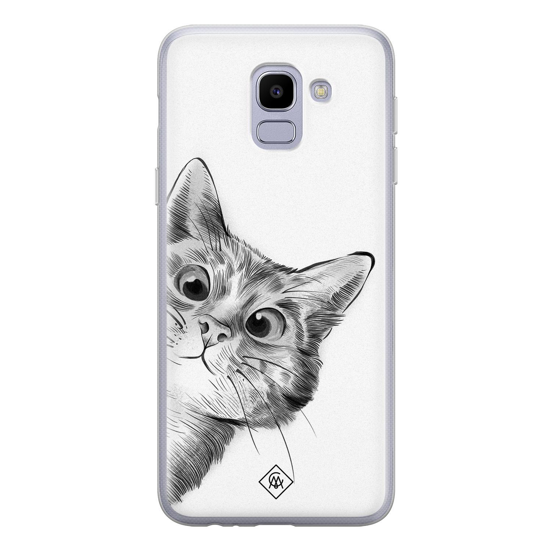 Samsung Galaxy J6 Siliconen Hoesje