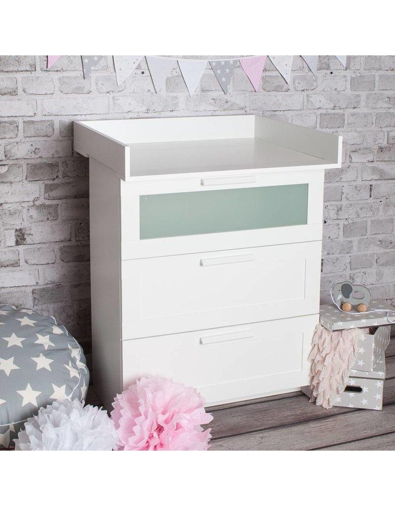 Xs Plan à Langer Pour Tous Les Commodes Ikea Brimnes Blanc