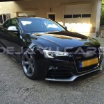 Rs5 Look Front Grill Black Chrome Edition For Audi A5 B8 Www Dejavucars Eu