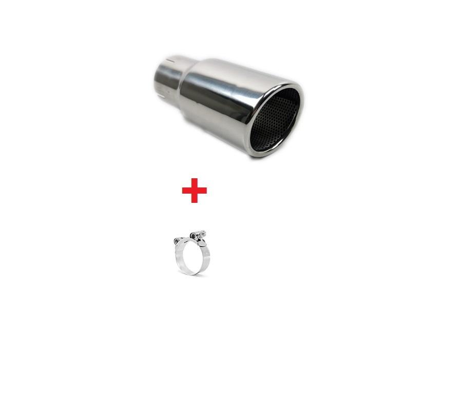 universal chrome exhaust tips