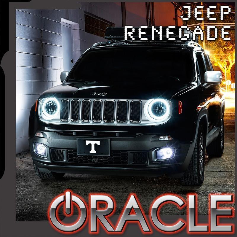 2015 2018 jeep renegade oracle halo kit