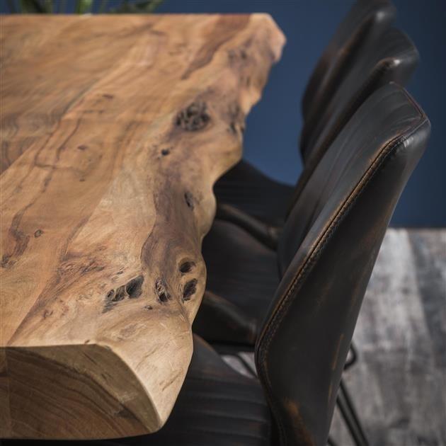 meubles en bois massif design