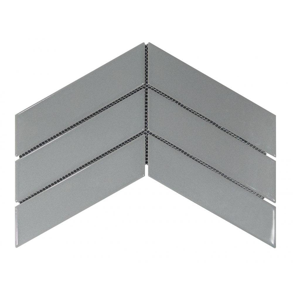 luxury tiles chevron grey decor tile