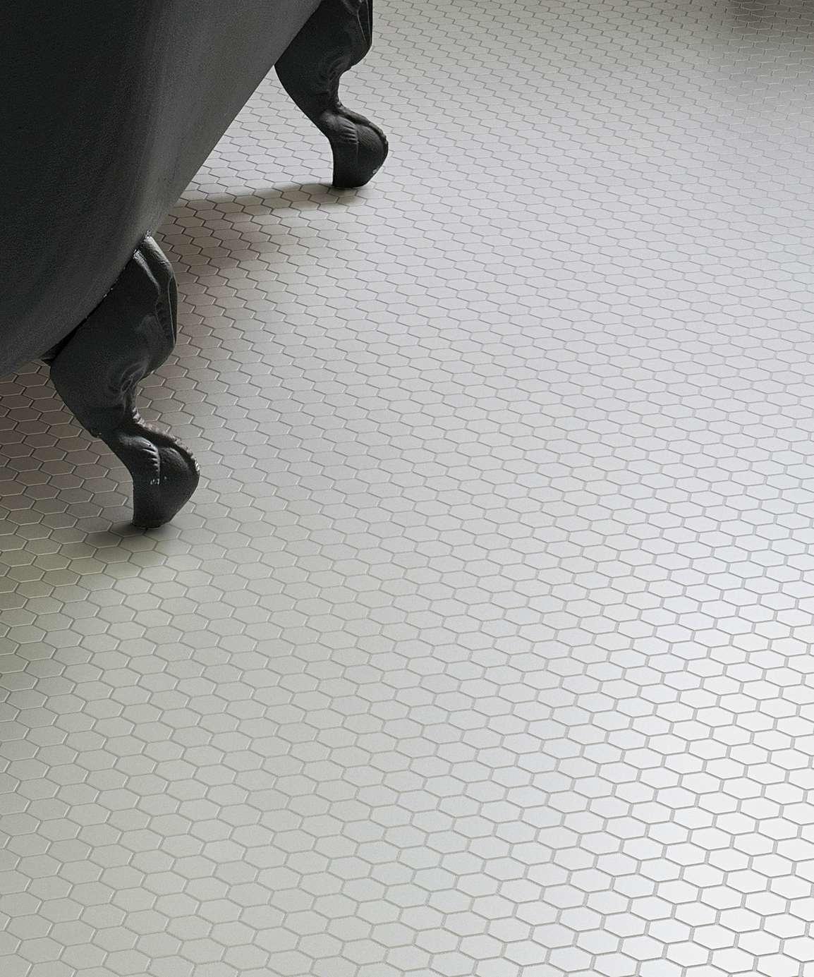 luxury tiles shapes hexagon matt white mosaic tile