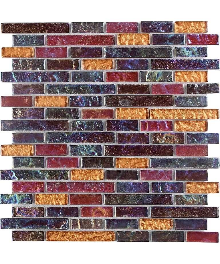 luxury tiles mosaic and glass rainbow mermaid wall tile 30 3cm x 30 3cm