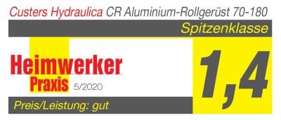 Heimwerker Praxis Testergebnis CUSTERS CR 70-180