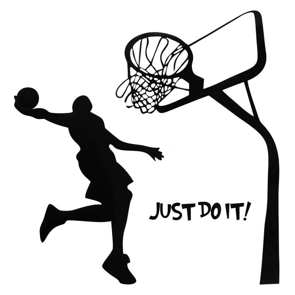 Muursticker Basketbal Online Bestellen I Myxlshop Tip