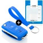 Skoda Car Key Cover Blue Carkeycover Com