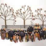 C Jere Artisan House Wandskulptur Eines Stadtpark Decovista Kunstobjekte Metal Wanddeko Mobel