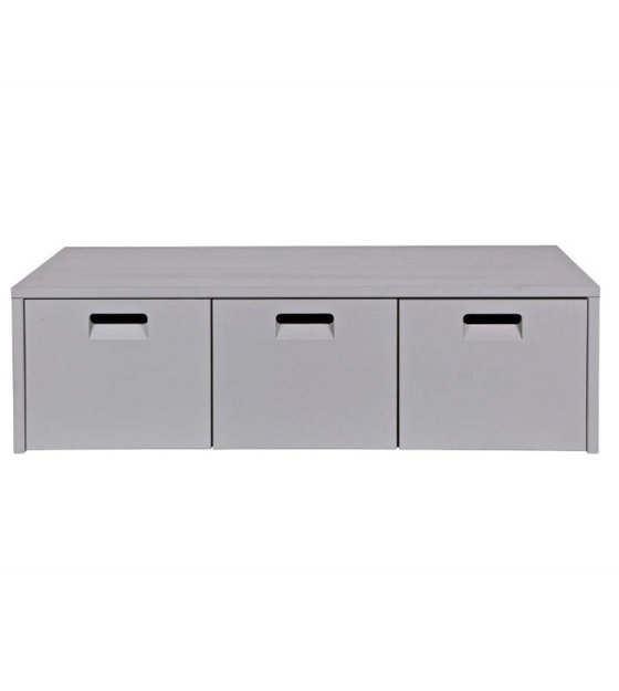 vtwonen banc de rangement store pin gris clair 120x50x36cm