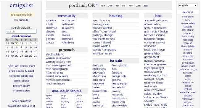 Craigslist Boats Portland Oregon Craigslist Link Money Market Pawn