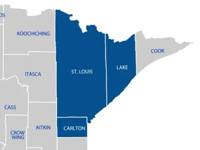 NORTHSTAR Heating   Cooling   HVAC Services   Duluth  MN NORTHSTAR Heating   Cooling   Service Area Map