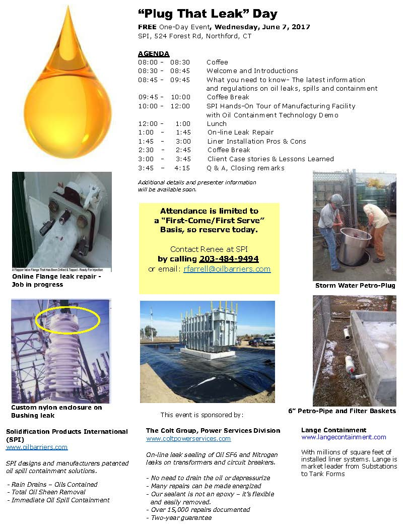 Transformer Oil Spill Requirements