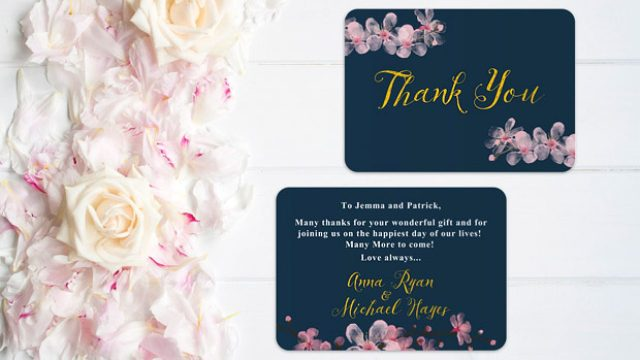 Wedding Thank You Cards - All The Answers  weddingsonline
