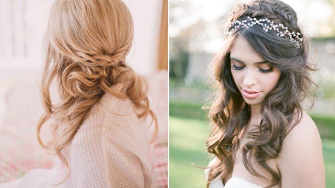 16 stunning half up half down wedding hairstyles