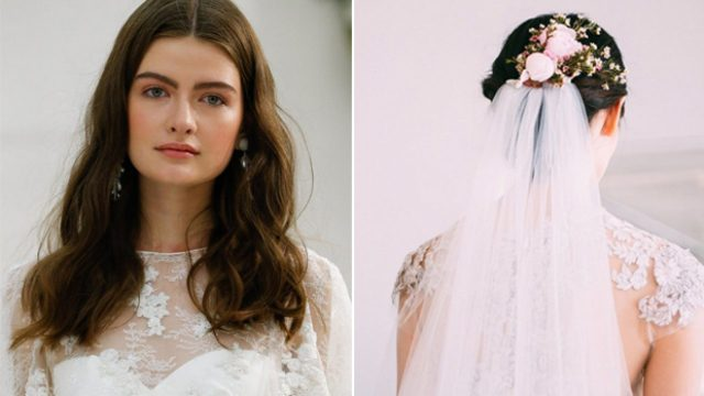top wedding hair trends from bridal fashion week 2017