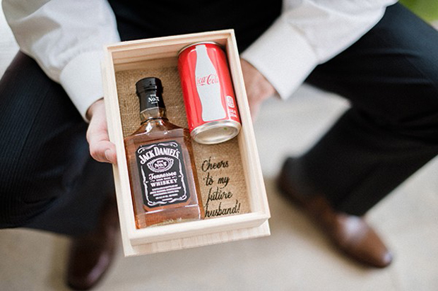 20 Seriously Sweet Wedding Morning Gift Ideas For Grooms