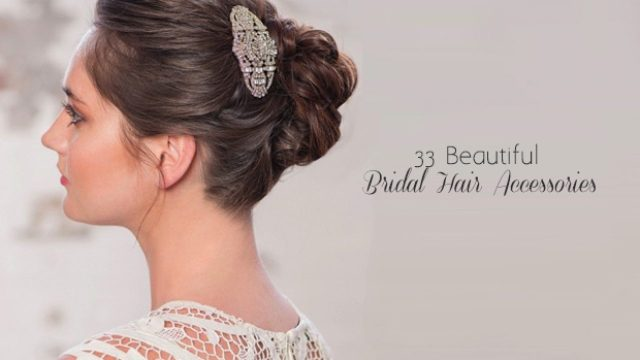 33 incredible hair accessories for brides | weddingsonline