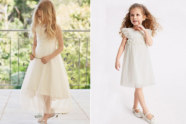 10 Pretty Flower Girl Dresses For Your Little Princess