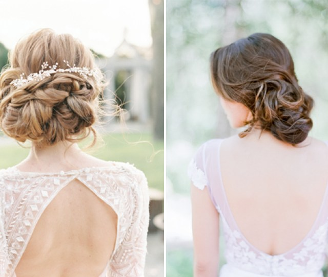 Updos Are Without A Doubt The Most Popular Bridal Hairstyle They Look Amazing And Once Its In You Can Forget All About It Unlike Loose Locks