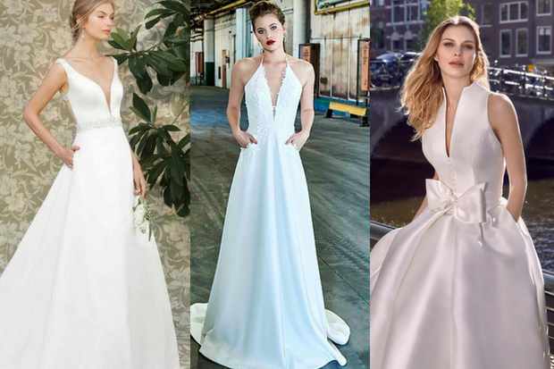 Wedding Dresses With Pockets Available In Ireland
