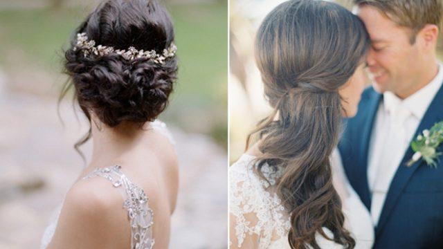 10 popular wedding hairstyles on pinterest | weddingsonline
