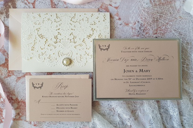 Total Elegance Classic Wedding Invitations Weddingsonline