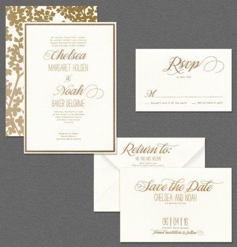 Vera Stationery From Inkpretty Wedding Invitations