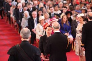 Ailsa Proverbs with Prince Charles