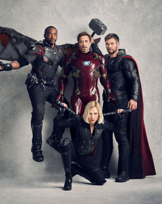 Vanity Fair's Anniversary Covers For Avengers: Infinity War Are Now Available Sans Text