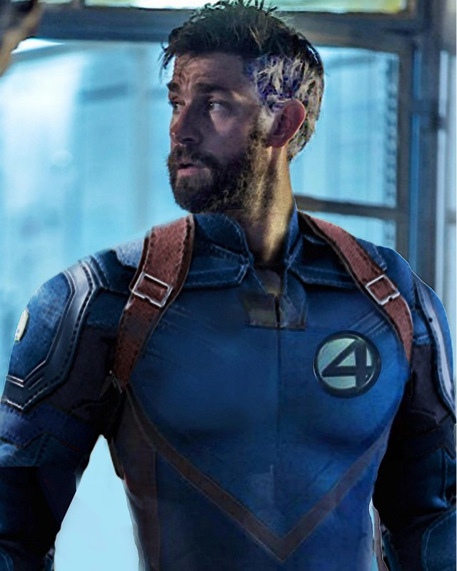 Fantastic Four Fan Art Renders John Krasinski As The New Reed Richards