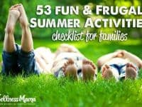 53 Fun and frugal summer activities for children 200x150 53 Fun Family Summer Activities Checklist