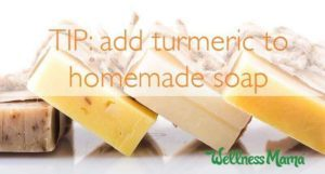 add-turmeric-to-homemade-soap