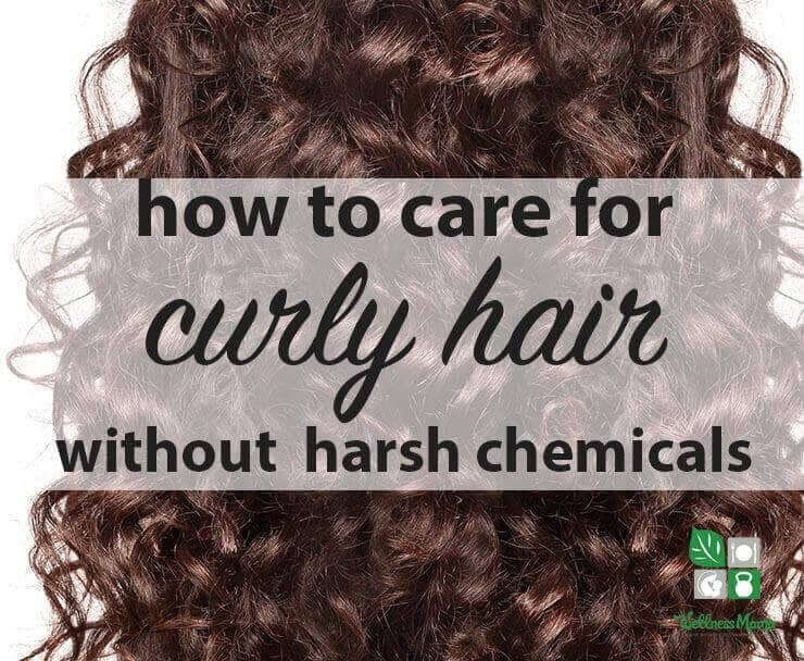 How To Care For Curly Hair Naturally Wellness Mama