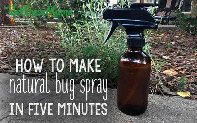 How to make natural bug spray in about five minutes