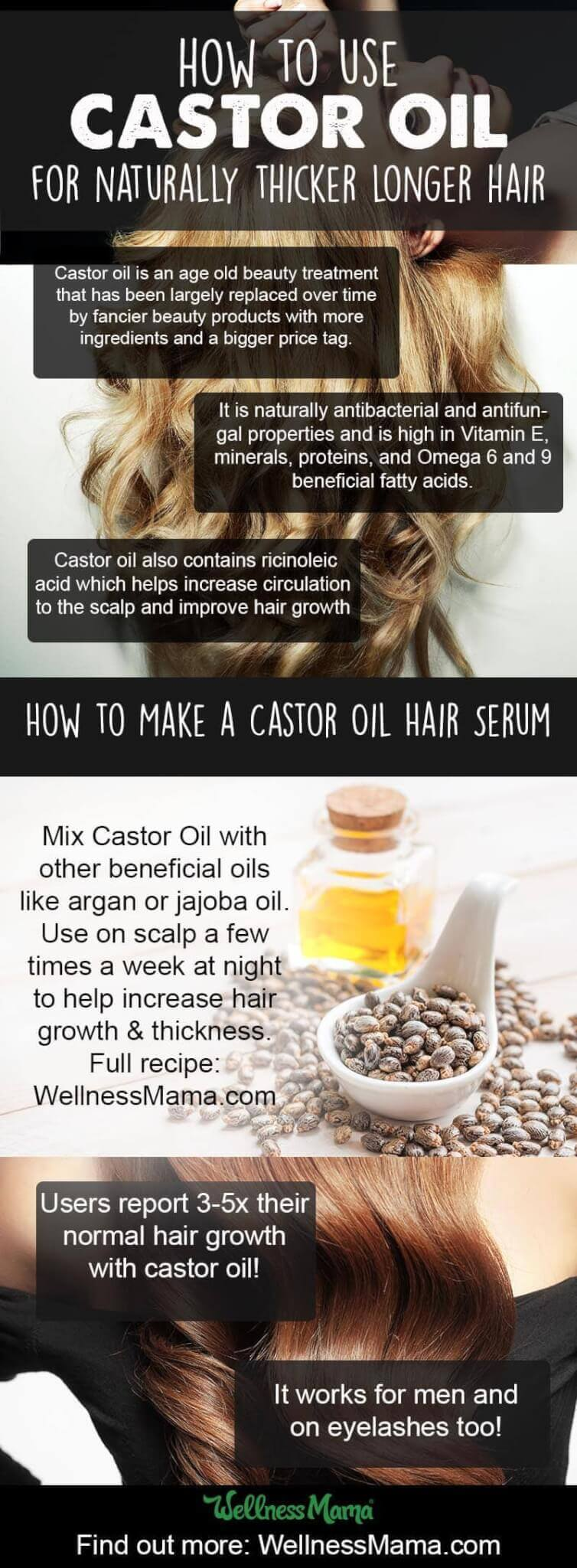How To Use Castor Oil For Hair Grow Beautiful Hair Fast