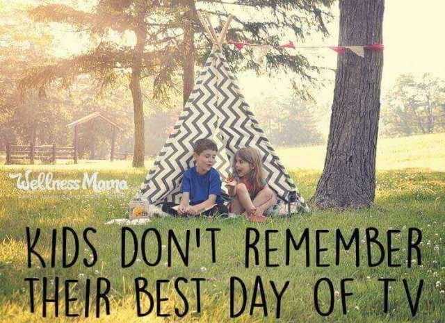 Kids don't remember their best day of tv