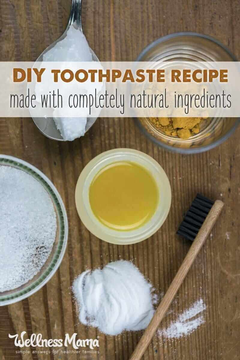 How To Make Natural Toothpaste Wellness Mama