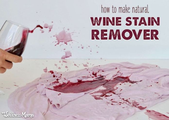 Natural Wine Stain Remover