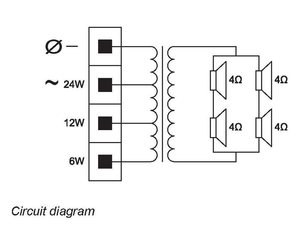 La1 Uw24 D1 Bosch Cabinet Loudspeakers